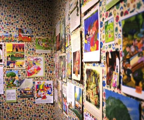 Il Compianto. Installazione site specific, dettaglio. Galleria Oltredimore, Bologna