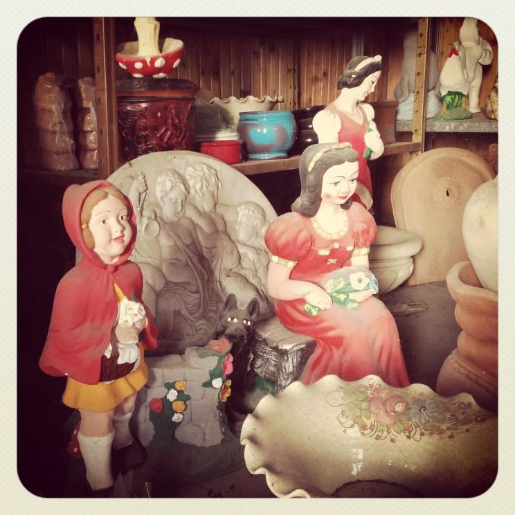 Biancaneve e Cappuccetto Rosso.